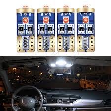 <b>Renault Megane MK2</b> 501 W5W Blue Interior Courtesy Bulb LED ...