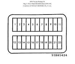 96 nissan fuse box wiring diagram option