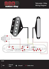 tele wiring diagram printable wiring diagrams database tele wiring diagram description amazon com fender telecaster loaded 3 way control plate cts pots crl switch tele musical instruments