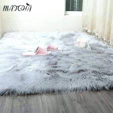 black faux fur rug 5x7 white large rugs google search dorm room ideas and brilliant idea