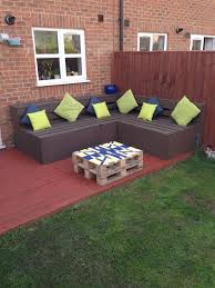 pallets made into furniture. Old Pallets Made Into Corner Sofa \u0026 Table. Furniture