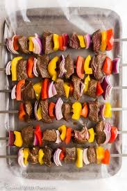 easy beef kabobs great for