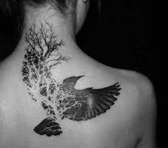 Tetování Přes Krk A Lopatku My Free World