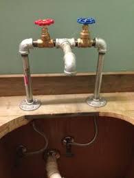 galvanized bathroom sink. rustic/retro bathroom makeover galvanized sink o