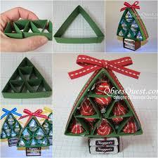 Wonderful DIY Sweet Chocolate Christmas Tree GiftChocolate For Christmas Gifts