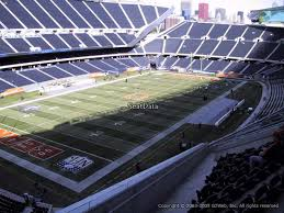 Soldier Field Chart Soldier Field Section 317 Chicago Bears Rateyourseats Com