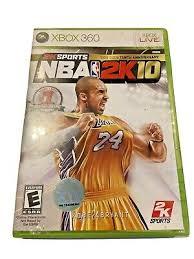 nba 2k10 microsoft xbox 360 video games