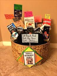 funny retirement gift ideas baskets basket