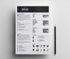 Indesign Resume Resume Templates Indesign Free Cv Design Template Download 18