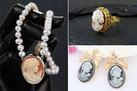 how to flaunt the cameo jewelry