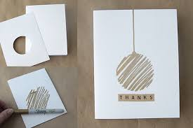 easy DIY thank you cards with metallic accents using Sharpies ...