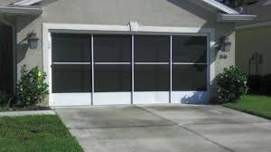 garage screen door slidersCentral Florida Garage Screens  Motorized Garage Screens Lakeland