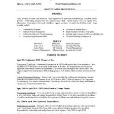Resume Sample For Secretary Resume Sample Secretary New Resume Samples Administrative Assistant
