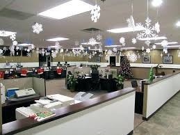 decorating the office for christmas. Office Christmas Decorating Themes Decoration Cubicle . The For