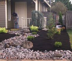 Phenomenal No Grass Landscaping Amazing Front Yard And Backyard Idea Impressive Small Garden Design Ideas On A Budget Pict