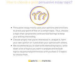 Explore 140 Shocking Persuasive Essay Topics And Ideas