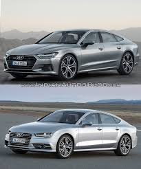 audi a7 2014 custom. 2018 audi a7 sportback vs 2014 front three quarters left side custom