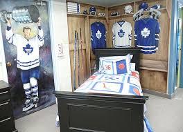 hockey theme for bedroom