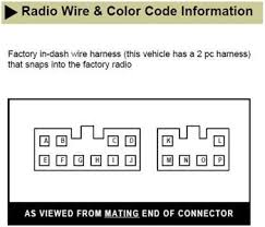 solved need car stereo wiring diagram or wiring code for fixya i this other information