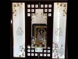 room door designs. Pooja Room Door Designs In Glass | SJ\u0027s World