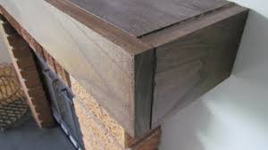 how to build a fireplace mantel shelf over brick ideas