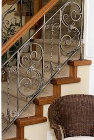 iron stair rails and banisters | Sylvan's Custom Iron Works :: STAIR  RAILINGS ::