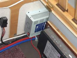 replacing a failed caravan power supply the amperor unit fitted neatly into the space between the battery box and front bulkhead this position should help it to avoid being smothered bedding