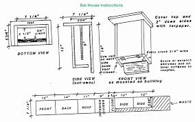 free bat house plans best of 5 to build a from wood