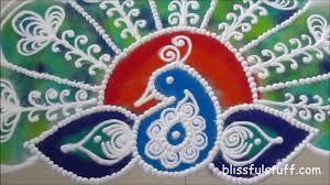 Diwali Rangoli Designs Sanskar Bharti Beautiful Peacock Rangoli How To Draw Sanskar Bharati