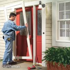 how to install a storm door and storm