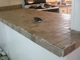 tile countertop edge how to tile a edge install granite tile countertop edge