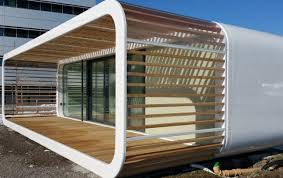 not to be confused with the cooba the coodo by a prefab builder in slovenia is a customizable compact portable unit that can be anything from a tiny backyard office prefab