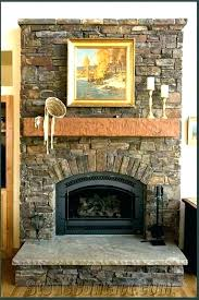 refcing refinish brick fireplace with tile