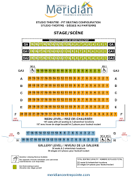 Centerpoint Theater Seating Chart Les Lye Studio Theatre Floor Plans Centrepointe Theatre