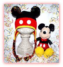 Crochet Mickey Mouse Hat Pattern