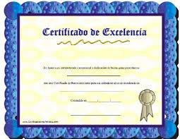 Imprimir Certificados Blanco Gratis Para En