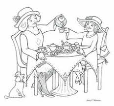 Small Picture Printable Tea Party Coloring Page 1 Coolest Free Printables