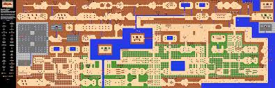 the legend of zelda  overworld quest  map
