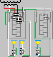 wiring a main panel wiring diagram show
