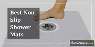 best non slip shower mats