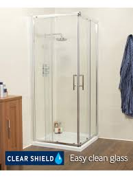 kyra range 760 corner entry shower enclosure adjustment 715 740mm