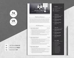 Resume Modern Temp Resume Templates Design Modern Resume Template 3 Pages