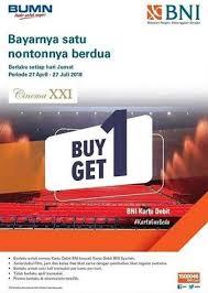 Free Tiket Buy 1 Get 1 Free Ticket At Cinema Xxi Transmart Rungkut