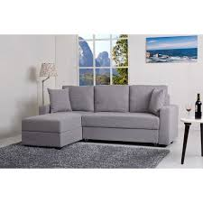 convertible sectional sofa bed. Delighful Sectional Aspen Ash Convertible Sectional Storage Sofa Bed  Overstock Shopping Big  Discounts On Sofas On 7