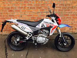 new euro4 sinnis apache supermoto 125 own this bike for only