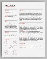 Unique Resume New How To Design Unique Resumes With Stock Vectors Storyblocks Blog