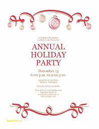 Invitation For Party Template Classy Free Holiday Party Invitation Templates Word Template Business