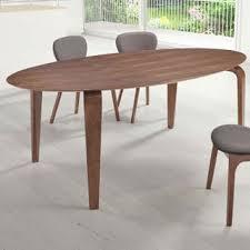 virginia key walnut finish dining table