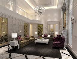 Luxury Living Room Decor Living Room Brown Marble Flooring White Sofa Contemporary Height