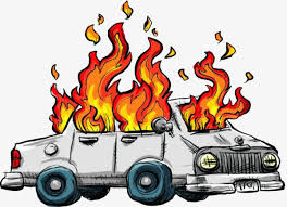car with flames clipart. Delighful Flames Car Fire Car Clipart To Catch Fire Fire PNG Image And Clipart For With Flames E